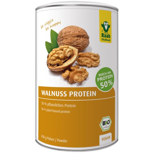 *Bio BIO Walnuss Protein 50 % (420g) Raab Vitalfood