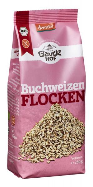 *Bio Buchweizenflocken glutenfrei Demeter (250g) Bauckhof