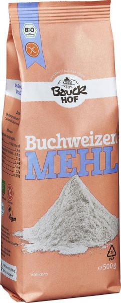 *Bio Buchweizenmehl Vollkorn glutenfrei Bio (500g) Bauckhof