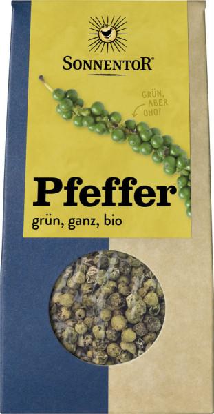 *Bio Pfeffer grün ganz, Packung (12g) Sonnentor