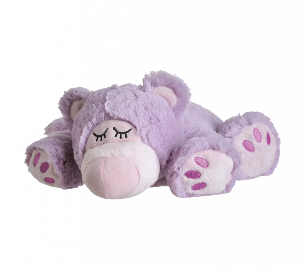 Warmies Sleepy Bear lila (1 Stück)