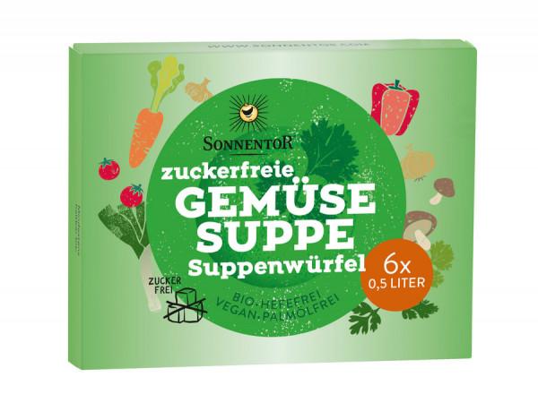 *Bio Zuckerfreie Gemüsesuppe Suppenwürfel (66g) Sonnentor