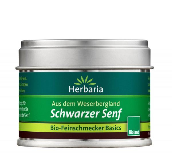*Bio Schwarzer Senf bio -Bioland S-Dose (40g) HERBARIA