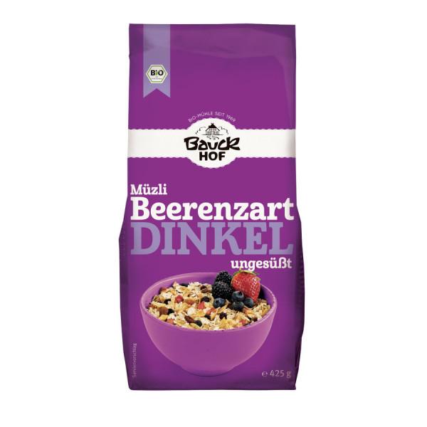 *Bio Dinkel Müzli Beerenzart Bio (425g) Bauckhof