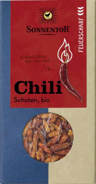 *Bio Chili feuerscharf Schoten ganz, Packung (25g) Sonnentor