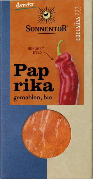 *Bio Paprika edelsüß gemahlen, Packung (50g) Sonnentor