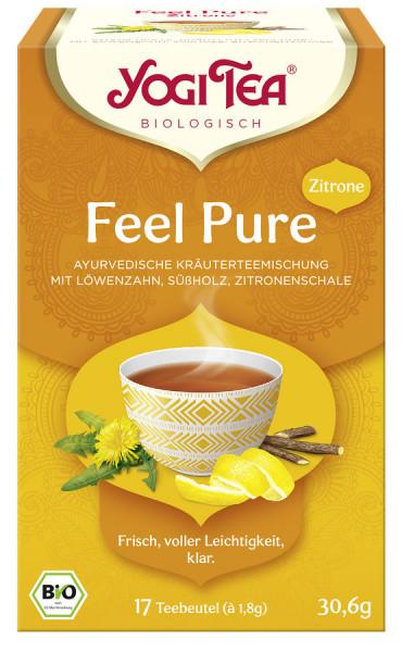 *Bio Yogi Tea® Feel Pure Zitrone Bio (17x1,8g) Yogi Tea®, Yogi Tea GmbH