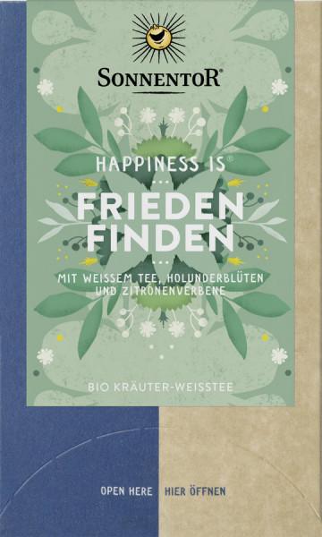 *Bio Frieden finden Tee Happiness is®, Doppelkammerbeutel (27g) Sonnentor