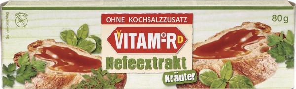 Kräuter VITAM-RD Hefeextrakt ohne Salz (80g) VITAM