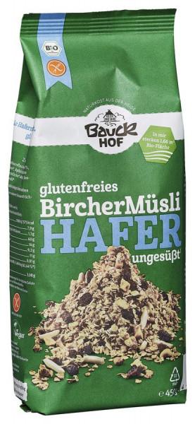 *Bio Hafer Müsli Bircher glutenfrei Bio (450g) Bauckhof