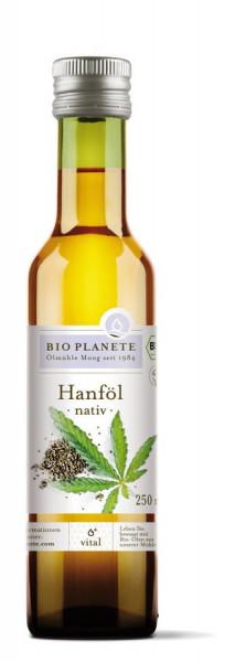 *Bio Hanföl nativ (0,25l) BIO PLANÈTE