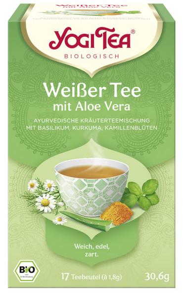 *Bio Yogi Tea® Weißer Tee mit Aloe Vera Bio (17x1,8g) Yogi Tea®, Yogi Tea GmbH