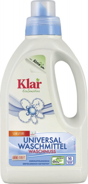 Universal Waschmittel Waschnuss (0,75l) Klar