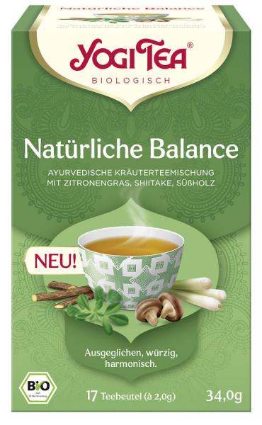 *Bio Yogi Tea® Natürliche Balance Bio (17 x 2,0g) Yogi Tea®, Yogi Tea GmbH