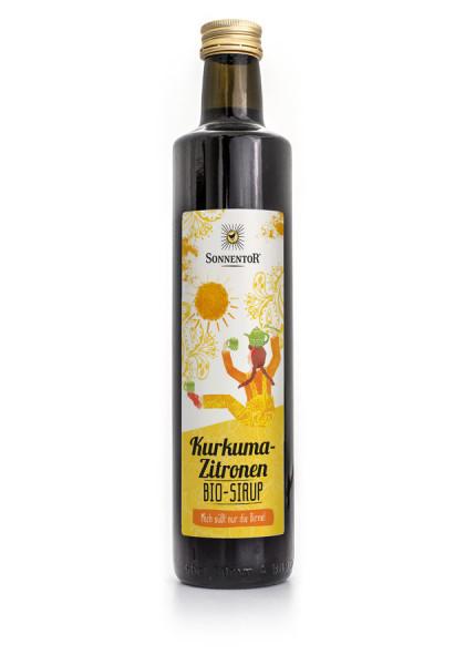 *Bio Kurkuma-Zitronen Sirup (500ml) Sonnentor