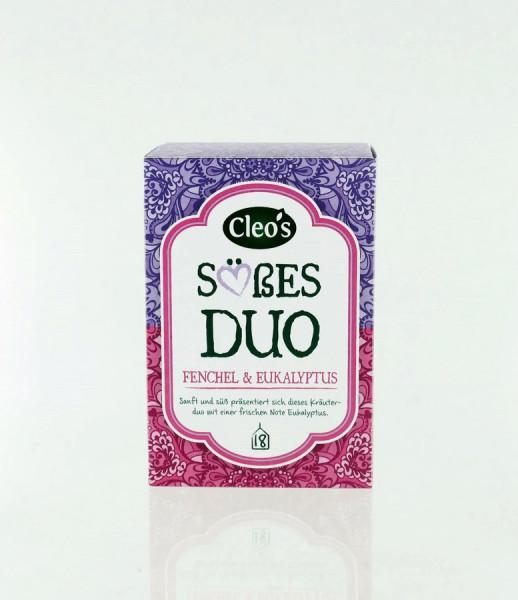 *Bio Süßes Duo (18 x 1,5g) Cleo's
