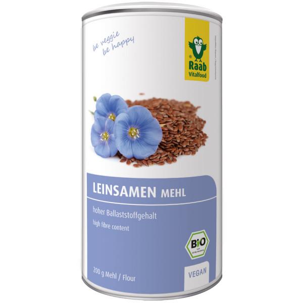 *Bio Bio Leinsamen Mehl (200g) Raab Vitalfood
