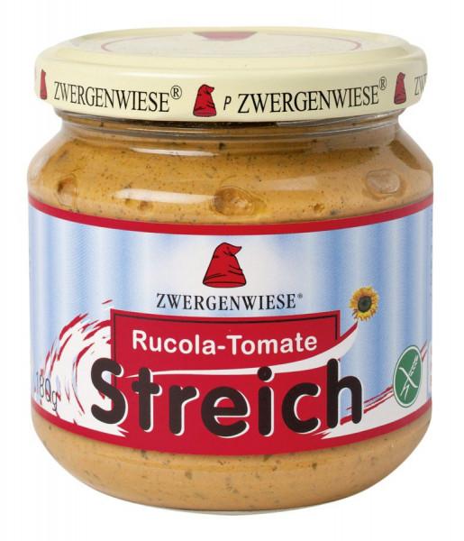 *Bio Rucola-Tomate Streich (180g) Zwergenwiese