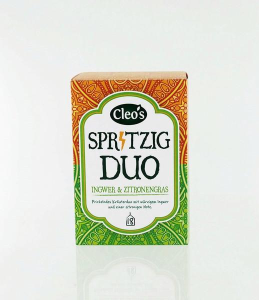 *Bio Spritzig Duo (18 x 1,5g) Cleo's
