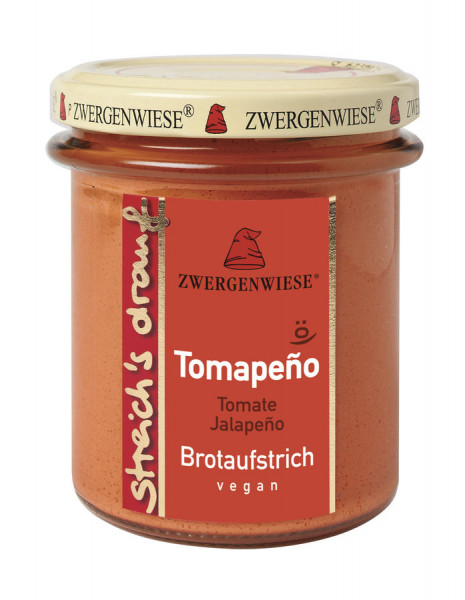 *Bio streich´s drauf Tomapeño (160 g) Zwergenwiese