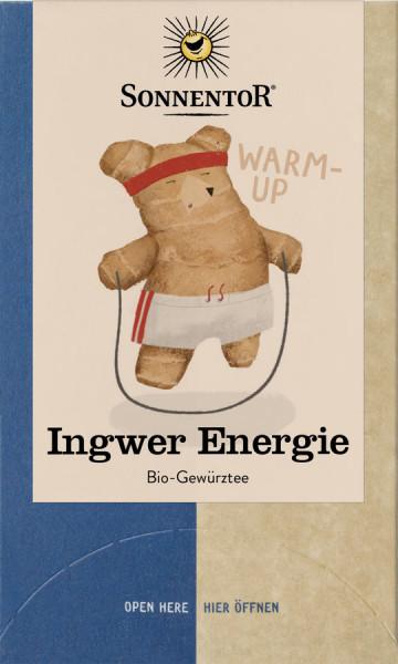 *Bio Ingwer Energie Tee, Doppelkammerbeutel (32,4g) Sonnentor