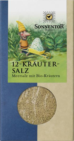 *Bio 12-Kräutersalz, Packung (120g) Sonnentor