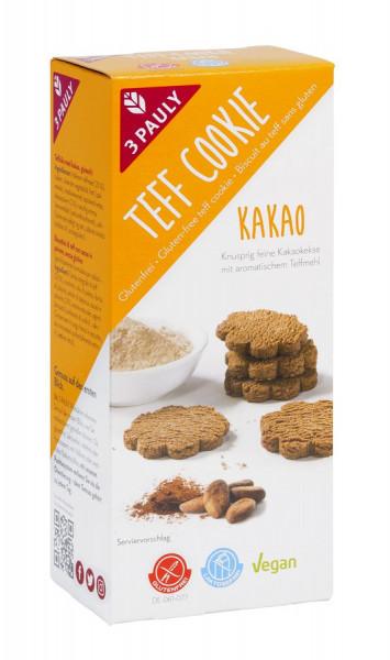 Teff Cookie Classic Kakao (125g) 3PAULY