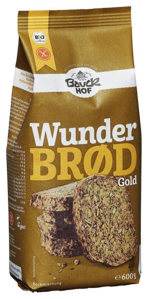 *Bio Wunderbrød Gold Bio glutenfrei (600g) Bauckhof