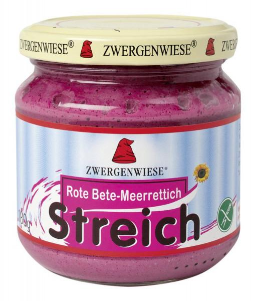 *Bio Rote-Bete-Meerrettich Streich (180g) Zwergenwiese