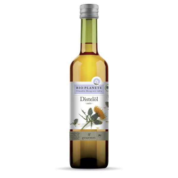 *Bio Distelöl nativ, high linoleic (0,5l) BIO PLANÈTE