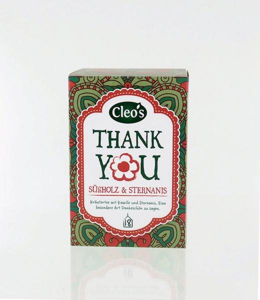 *Bio Thank You (18 x 1,5g) Cleo's