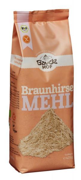 *Bio Braunhirsemehl Vollkorn glutenfrei Bio (425g) Bauckhof