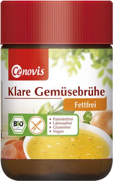 *Bio Klare Gemüsebrühe fettfrei, bio (162g) Cenovis