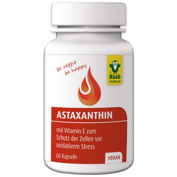 Astaxanthin vegan (26,3g) Raab Vitalfood