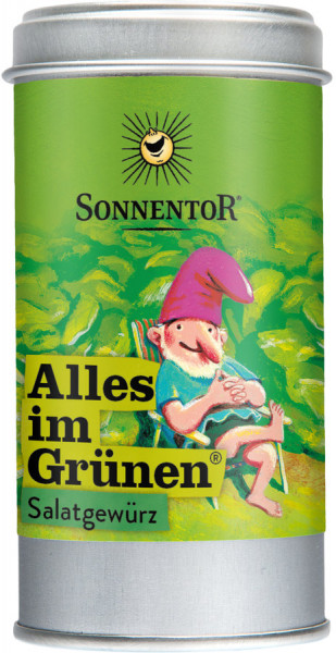 *Bio Alles im Grünen® Salatgewürz, Streudose (15g) Sonnentor