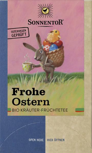 *Bio Frohe Ostern Tee, Doppelkammerbeutel (27g) Sonnentor