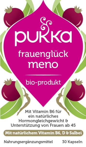 *Bio Frauenglück Meno (30x0,60g) Pukka