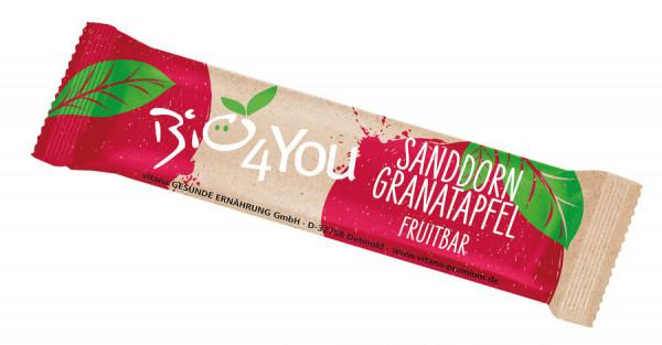 *Bio Bio-Sanddorn-Granatapfel Fruchtriegel (30g) Vitana