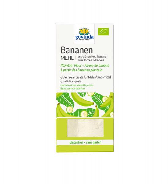 *Bio Bananenmehl aus grünen Bananen (350g) Govinda