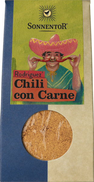 *Bio Rodriguez' Chili con Carne, Packung (40g) Sonnentor