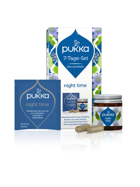 *Bio 7 Tage Set - Night Time (1 Set) Pukka