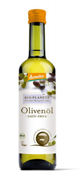 *Bio Demeter Olivenöl nativ extra (0,5l) BIO PLANÈTE