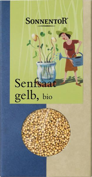 *Bio Senfsaat gelb, Packung (120g) Sonnentor