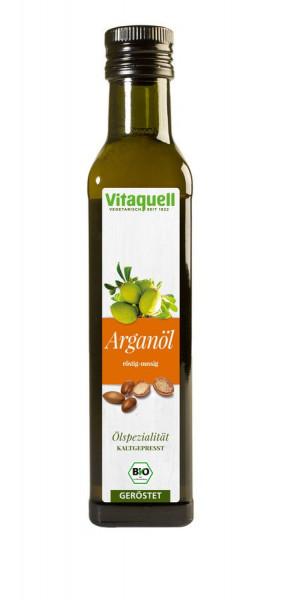 *Bio Argan-Öl Bio geröstet, kaltgepresst (0,25l) Vitaquell
