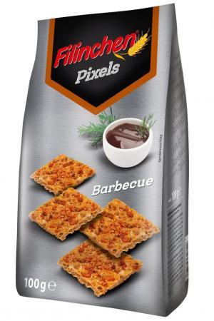 Filinchen Pixels Barbecue (BBQ), 100g