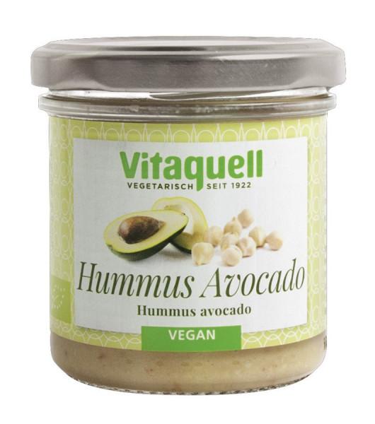 *Bio Hummus Avocado Bio (130g) Vitaquell