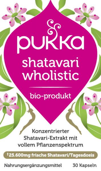 *Bio Wholistic Shatavari NEM (30x0,65g) Pukka