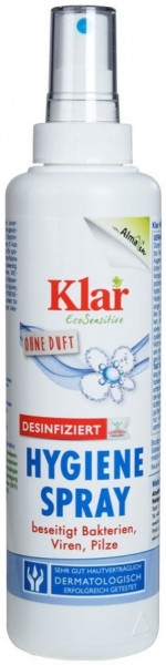 Klar - Hygiene-Spray (DESINFIZIEREND) 250ml