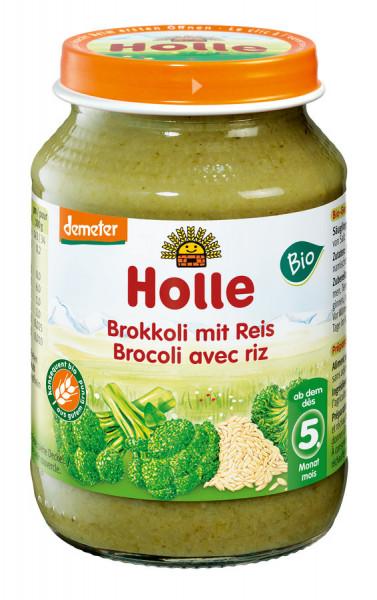 *Bio Brokkoli mit Reis (190g) Holle