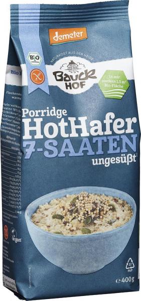 *Bio Hot Hafer 7-Saaten glutenfrei Demeter (400g) Bauckhof